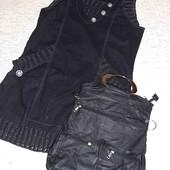 Крутое платье большой рвзмер в подарок крутая сумка