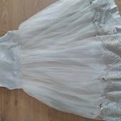 Нарядное платье для девочки 6-7 лет