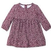 ☘ Миле якісне плаття з органічної бавовни для маленької модниці, Tchibo (Німеччина), р .:86/92