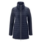 Стильное комбинированное пальто, евро 40. От 3-х лотов Укрпочта бесплатно!!!