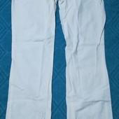 Женские лёгкие штаны из льна, размер xs - s, описание )