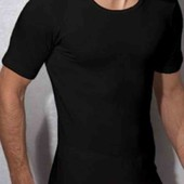 Чёрная футболка livergy L.
