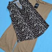 Стильный комплект:брюки+блузка! р.14-16(48-50)!!