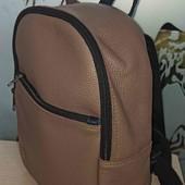 Акция!!! Кожаный рюкзак ручная работа.