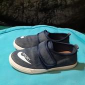 Текстильные мокасины c супинатором Lilin Shoes, разм. 32 (19,5 см ст.)