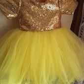 Нарядне платтячко на свято для принцеси. Читайте опис