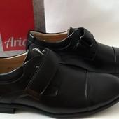 Туфли черные для мальчика фирма Аrial Ариалр-р 35, 36,37,38.Качество проверенное!!!
