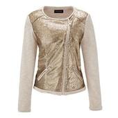 Оригинальный пиджак с пайетками от ТСМ Tchibo (германия) размер евро 42 (укр 48)