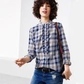 ☘ Стильна і м'яка фланелева сорочка, 100% бавовна, Tchibo (Німеччина), розміри наші: 46-48 (40 євро)