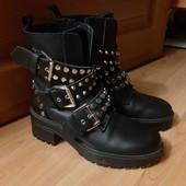 Крутые ботинки Zara 36p.