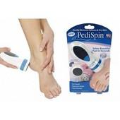 Электрическая пемза для педикюра Pedi Spin, Педикюрный набор