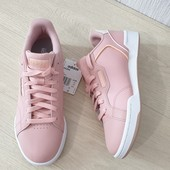 Adidas Женские кожаные кроссовки кеды Оригинал