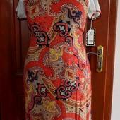 Качество! Стильное натуральное платье от La Dea
