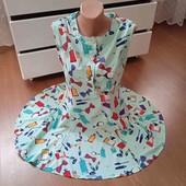 Ніжна та легка сукня.Колір м'ята(фото не передало)