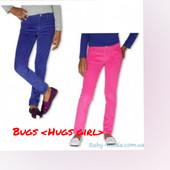 отличные микровельветовые брючки для девчонок Bugs &Hugs girl.