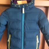 Куртка, еврозима, внутри флис, р. 4 года 104 см, Ted Baker. состояние отличное.
