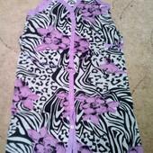 Практичный женский халат. 100% х/б