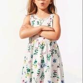 Новое фирменное платье- сарафан р. 6-8 лет