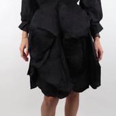 роскошное, оригинальное платье с вышитым воротником monte cervino
