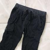 Стоп ,теплые❤ Фирменные черные джинсы-джоггеры на подкладке,3-4 года❤ Много лотов!