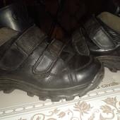Ботиночки 35р.кожа.в идеале.