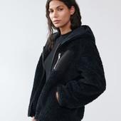 Куртка из искусственного меха.пушистик.оверсайз.размер евро 36.