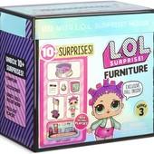 Новинка LOL surprise furniture roller rink with roller skater doll лялька лол з меблями оригінал