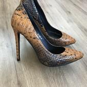 Шикарные люкс класса женские туфли кожа constantino