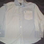 шикарная рубашка H&M 6-7 лет 116-122 см