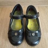 Туфли, черные туфельки clarks