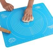 Силиконовый коврик для раскатки теста 40*50см