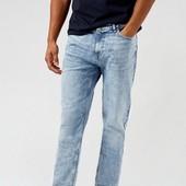 ☘ Чоловічі сині органічні джинси burton menswear (Германия), розмір 34 R