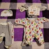 Комплект одежды для новорожденного , 18 единиц