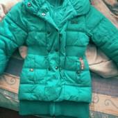 Модна куртка для дівчинки 10-12 років