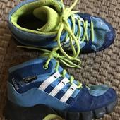 Демісезонні термо ботіночки Adidas розмір 27 стелька 16,5
