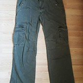 Катоновые штаны цвет хаки
