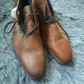 Новые кожаные туфли на мужчину, размер 29