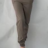 Женские брючки из софта, Джоггеры размер 44
