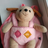 Очаровательный мягкий детский рюкзак - игрушка