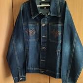 Джинсовая куртка, ветровка р.40