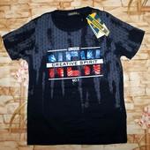 Модная футболка для мальчиков seagull 6-8 лет в лоте синяя