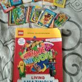 Lego книга - журнал + карточки