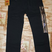 Котоновые брюки на мальчика 10 р. Синий цвет