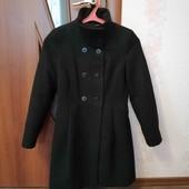 пальто кашемировое zara