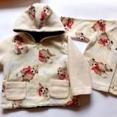 Курточка + кофточка для мальчика!!!