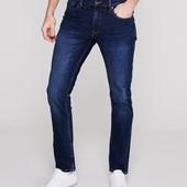 Скинни джинсы Firetrap мужские W38 L32 тёмно-синие