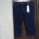 Фирменные новые укороченные джинсовые брючки-бриджи р.14-16