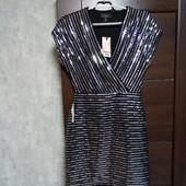 Фирменное новое красивое платье в пайетках р.10-12