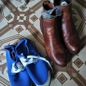 Туфли,балетки, полусапожки, мокасины на стельку 24,5- 26,5. В лоте 1 пара