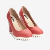 Блиц! Шикарные мега модные туфли! Такие только одни! 37 размер 24 см